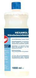 DREITURM Händedesinfektion HEXAWOL, 1.000 ml Flasche