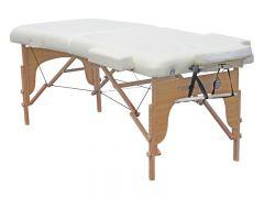 Massagetisch Semi professional 70 x 186 cm Creme