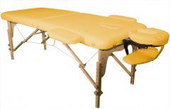 Massagetisch Semi professional 70 x 186 cm Gelb
