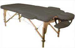 Massagetisch Semi professional 70 x 186 cm Schlamm